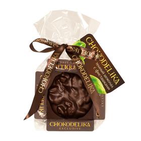 Шоколадная плюшка Chokolelika Темный шоколад с фисташками, 30 гр купить за 170 руб.