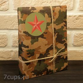 Защитнику Отечества - Подарочный чайный набор купить за 380 руб.