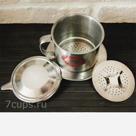 Пресс-фильтр (фин) для приготовления кофе по-вьетнамски 150 мл купить за 250 руб.