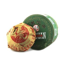 Шен Пуэр серия Сосна и журавль (Чаша) То Ча в подарочной упаковке 2014 год 92-100 грамм Фабрика Сягуань купить за 650 руб.