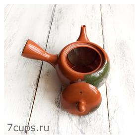 Японский чайник кюсу Цветочная поляна 400 мл купить за 2300 руб.