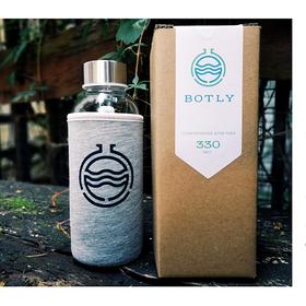 Бутылка из стекла для заваривания чая походная, 330 мл купить за 1200 руб.