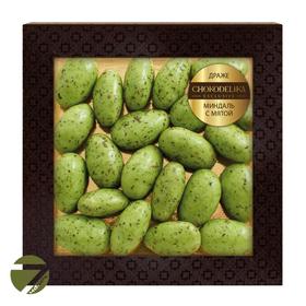 Миндальное драже  Chokodelika в коробке Мятный шоколад, 90 гр купить за 300 руб.