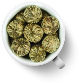 Хуа Личи Жасминовый Личи 50 гр  - Связанный зеленый чай купить за 390 руб.