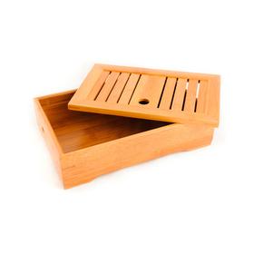 Доска для чайной церемонии (чабань) из бамбука Песчаное озеро 28,5 х 18,5 х 7 см купить за 1217 руб.
