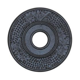 Чугунная подставка под чайник Антрацит купить за 394 руб.