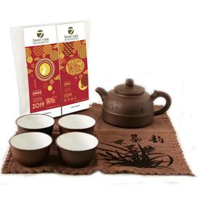 Новогоднее китайское чаепитие - Подарочный набор посуды для чайной церемонии купить за 2700 руб.