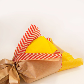 Букет из чая - Нарцисс крафт - Подарочный набор чайный букет купить за 787 руб.