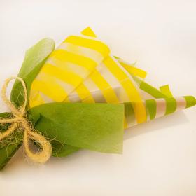 Букет из чая - Нарцисс зеленый - Подарочный набор чайный букет купить за 787 руб.