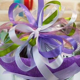 Букет из чая и кофе - Орхидея - Чайно-кофейный букет - Подарочный набор купить за 2770 руб.