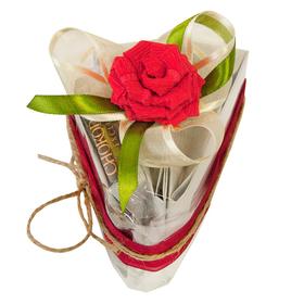 Чайный подарок - Кусочек торта Клубничный десерт купить за 687 руб.