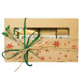 Новогодняя чайная коробочка - Зимний сухоцвет купить за 590 руб.