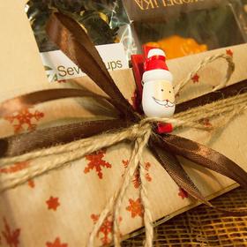 Новогодний чайная коробочка - Дед Мороз купить за 630 руб.