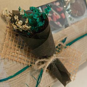 Коробка подарочная с чаем - Букет на 8 Марта купить за 670 руб.