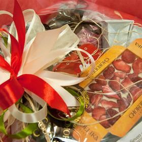 Букет из кофе - Красный мак - Подарочный набор кофейный букет купить за 3600 руб.