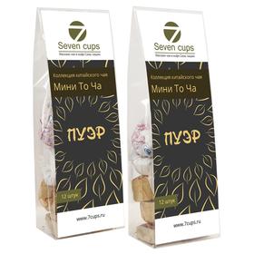 Коллекция китайского чая Пуэр Мини То Ча 12 штук купить за 400 руб.
