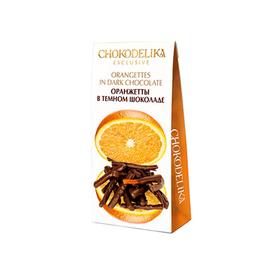 Оранжетты в темном шоколаде Chokodelika, 100 гр купить за 280 руб.