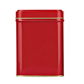 Банка для чая, сахара и конфет Красная 100 гр купить за 190 руб.