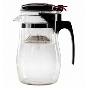 Чайник стеклянный заварочный с кнопкой Гунфу (типот) 750 мл купить за 807 руб.