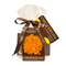 Шоколадная плюшка Chokolelika Апельсиновый шоколад с кешью, 30 гр купить за 170 руб.