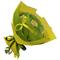 Букет из чая - Голландская роза желтая - Подарочный набор чайный букет купить за 1600 руб.