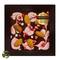 Узорный шоколад в коробке Chokolelika Клубника и миндаль, 80 гр купить за 300 руб.