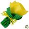 Букет из чая - Незабудка желтая - Подарочный набор чайный букет купить за 600 руб.