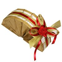 Подарочный чайный набор - Красная роза купить за 1650 руб.