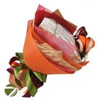 Букет из чая - Осенний цветок - Подарочный набор чайный букет купить за 1430 руб.