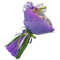 Букет из чая и кофе - Орхидея - Чайно-кофейный букет - Подарочный набор купить за 2980 руб.