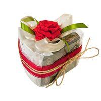 Чайный подарок - Кусочек торта Клубничный десерт купить за 755 руб.