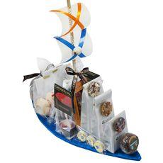 Корабль Удачи - Подарочный набор из чая и сладостей
