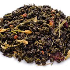 Уссурийский тигр 50 гр - Зеленый чай с ягодами и цветами