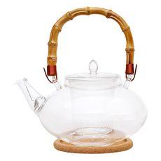 Чайник стеклянный Душистая кувшинка 1000 мл