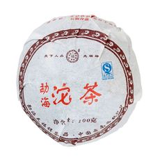 Шу Пуэр (Чаша) То Ча 2006 год 100 гр Фабрика Тяньфусян