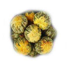 Чжень Шан Сян Тао 50 гр - Свежая слива - Связанный зеленый чай