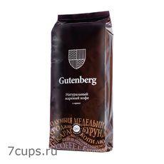 Кения АА+, Gutenberg 1 кг - Кофе в зернах, medium roast