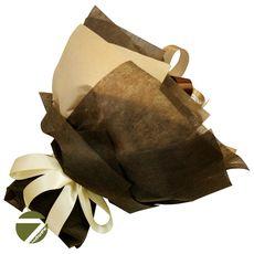 Букет из чая - Амарант коричневый - Подарочный набор чайный букет