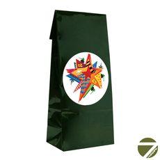 Подарочный чайный набор - Черный чай Вечерняя звезда в подарочном пакете 70 гр