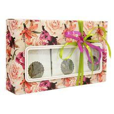 Коробка с окошком Зеленый вкус - Подарочный набор из зеленого чая