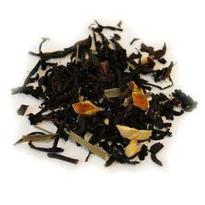 Имбирь и лимон 100 гр - Черный чай с натуральными добавками