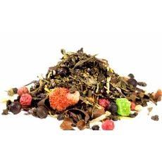 Шантарам 50 гр - Зеленый чай с ягодно-цветочными добавками