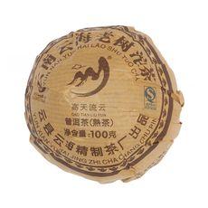 Шу Пуэр (Чаша) То Ча 2017 год 100 грамм Фабрика Юнь Хай