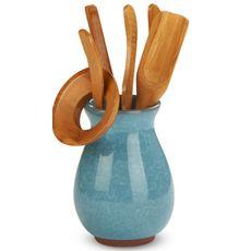 Инструменты для чайной церемонии Колотый лед голубой
