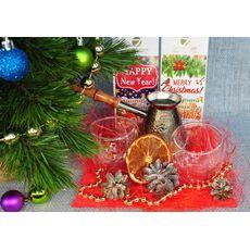 Новогодний набор посуды - Кофейная зима