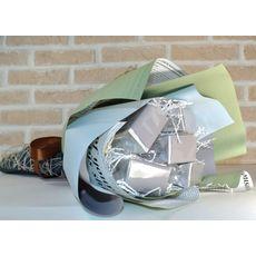 Букет из чая - Гиацинт голубой - Подарочный набор чайный букет