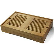 Доска для чайной церемонии (чабань) из бамбука 35 х 23 х 6,5 см