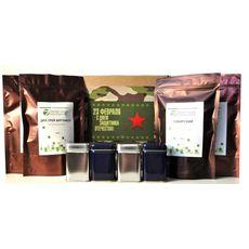 Подарочный набор к 23 февраля - чай и баночки для хранения