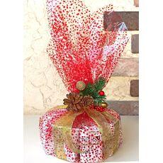 Торт Новогоднее панфорте - Подарочный набор из чая