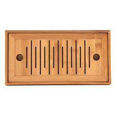 Доска для чайной церемонии (чабань) из бамбука Флейта 25х 14 х 4 см